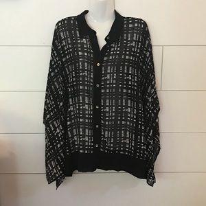 Michael Kors Black blouse!